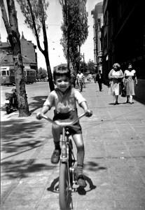 à vélo.1955 - copie